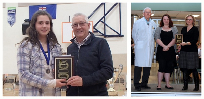 Image of 2 Genome Alberta Award Winners